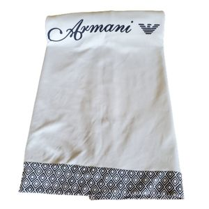 Armani baby blanket limited edition NWOT